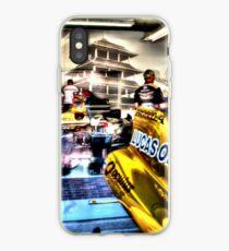 James Hinchcliffe Indy Garage iPhone Case