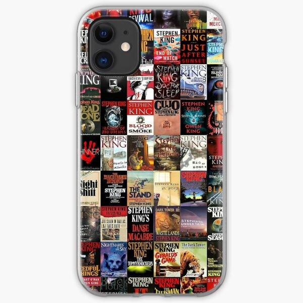 Stephen King Novels iPhone Soft Case