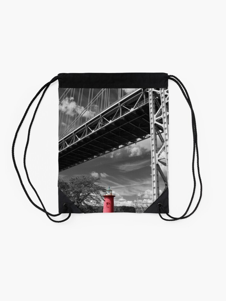 Alternate view of A MIghty Presence Drawstring Bag
