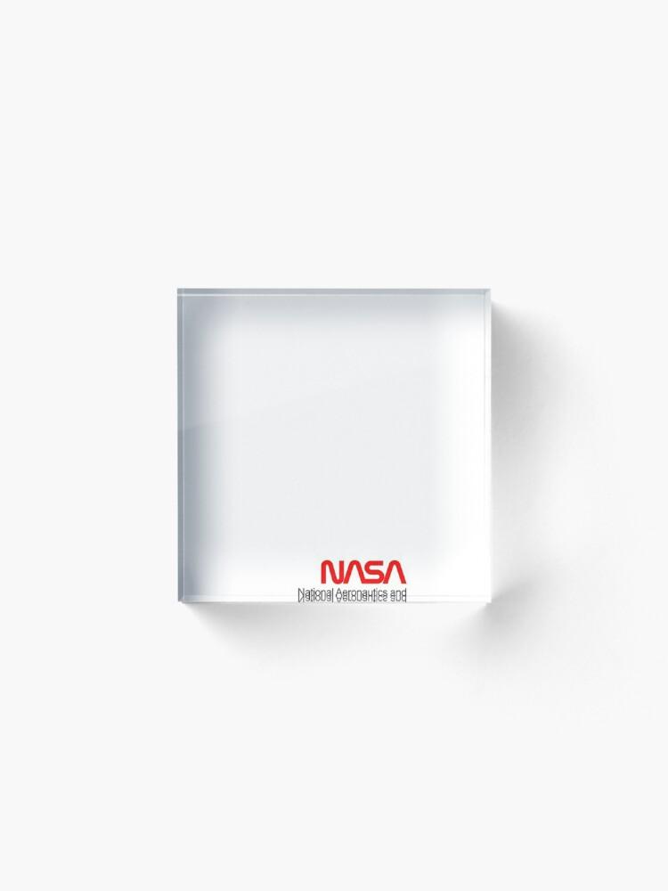 Alternative Ansicht von NASA x Vans (Space White) Acrylblock