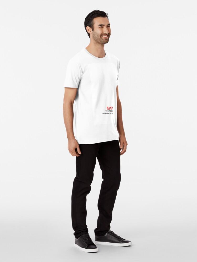 Alternative Ansicht von NASA x Vans (Space White) Premium T-Shirt