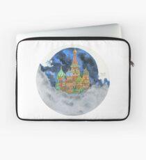 Russian Castle & Flying Castle Laptop Sleeve