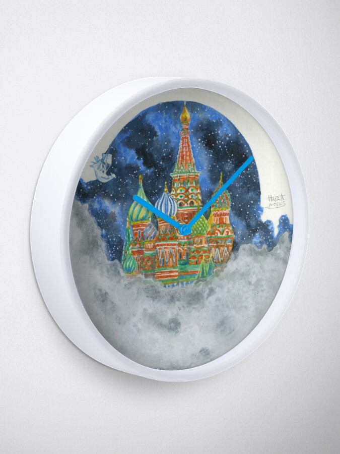 Alternate view of Russian Castle & Flying Castle Clock