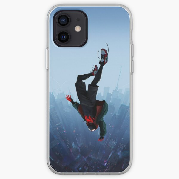Miles Morales jump iPhone Soft Case