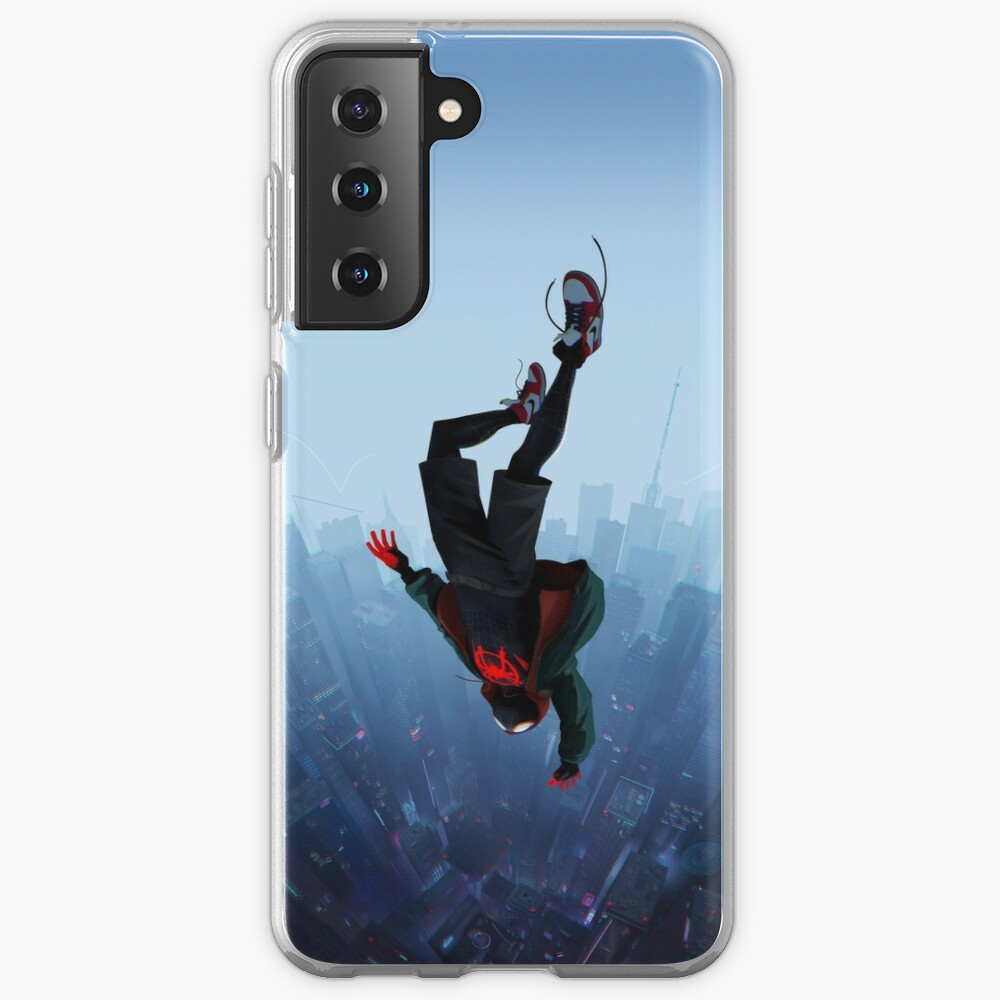 Miles Morales jump Case & Skin for Samsung Galaxy