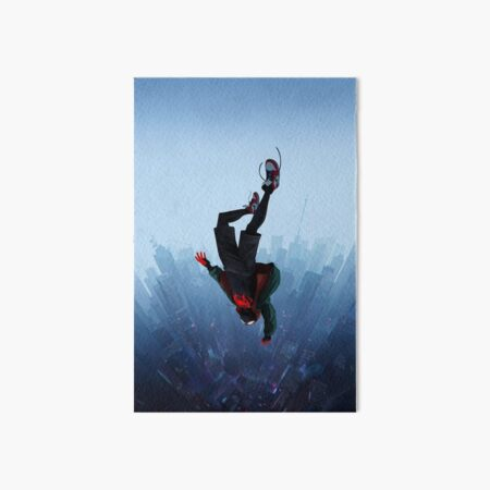 Miles Morales jump Art Board Print
