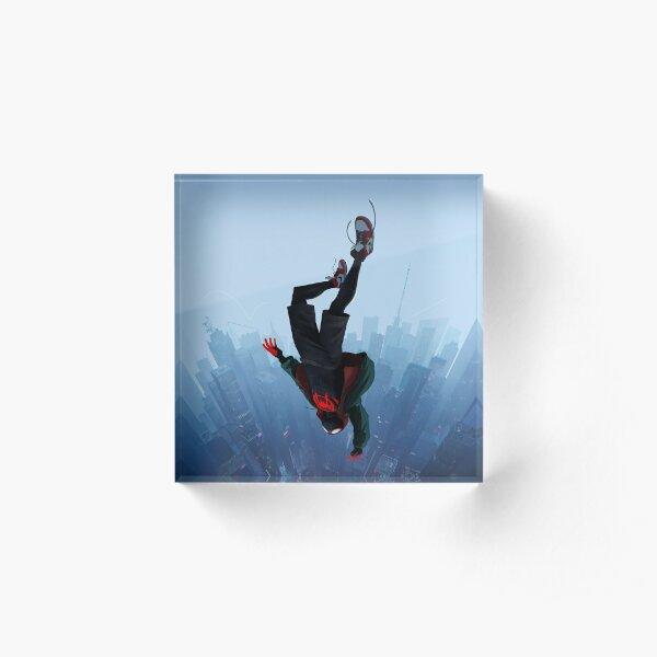 Miles Morales jump Acrylic Block