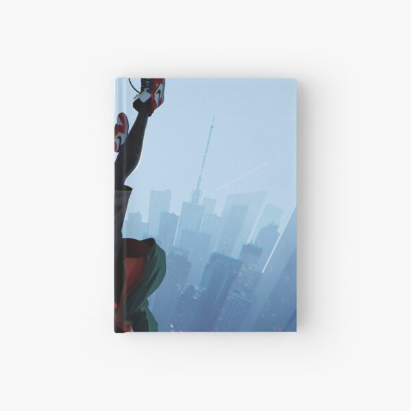 Miles Morales jump Hardcover Journal