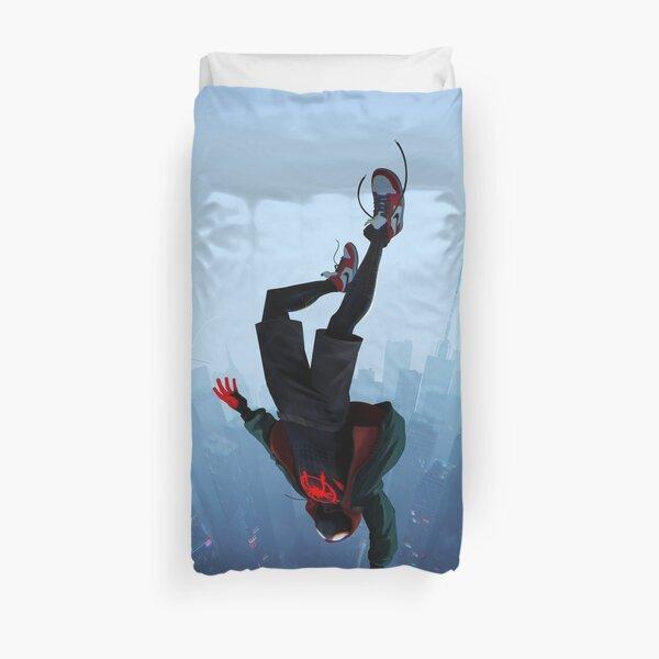 Miles Morales jump Duvet Cover