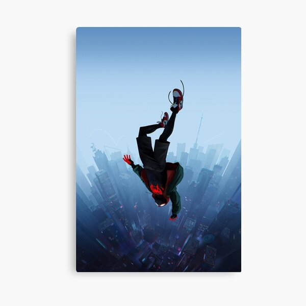 Miles Morales jump Canvas Print