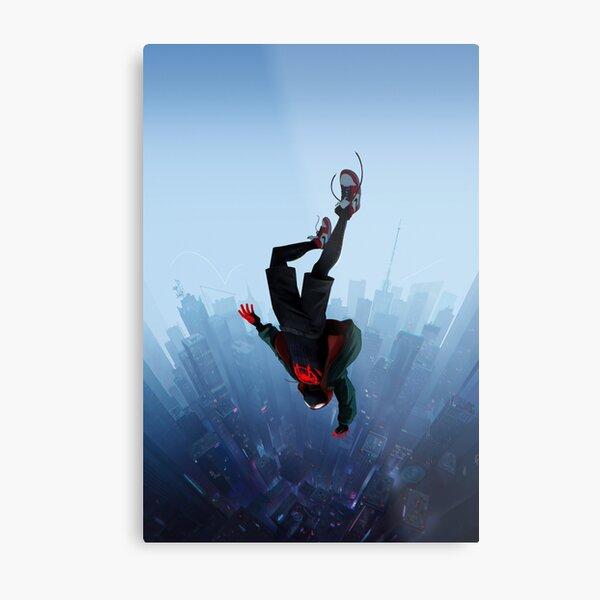 Miles Morales jump Metal Print