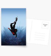 Miles Morales jump Postcards
