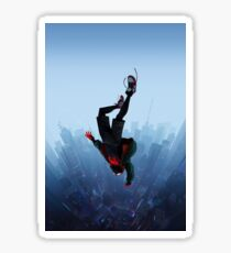Miles Morales jump Sticker