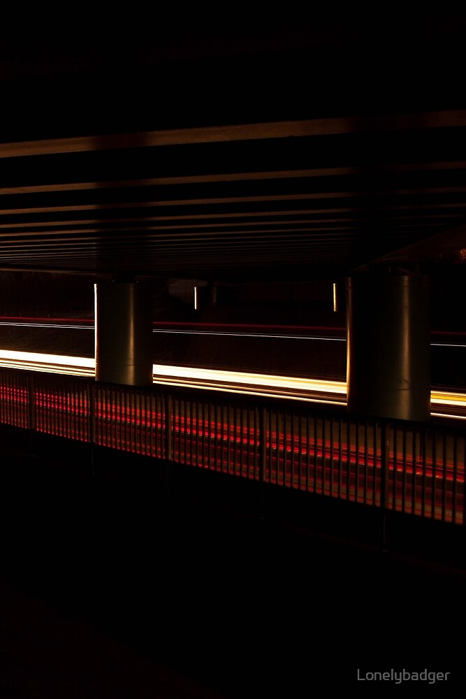 Bridge over light by Lonelybadger