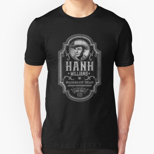 Hank Williams: Ramblin' Man Slim Fit T-Shirt
