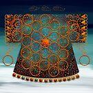 Oriental Robe by Karin Taylor