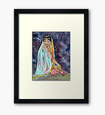 Shahrazade at Night Framed Print