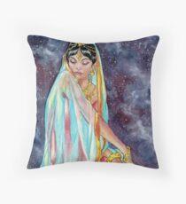 Shahrazade at Night Throw Pillow
