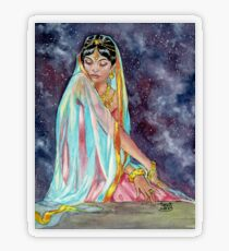 Shahrazade at Night Transparent Sticker