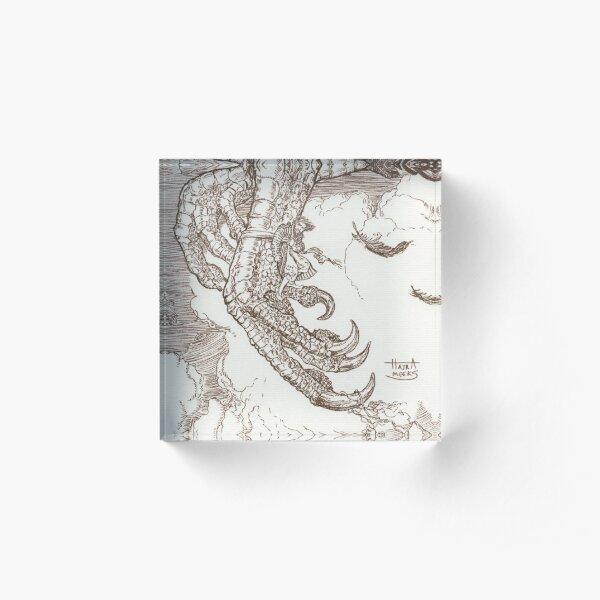 Sindbad & the Roc Acrylic Block