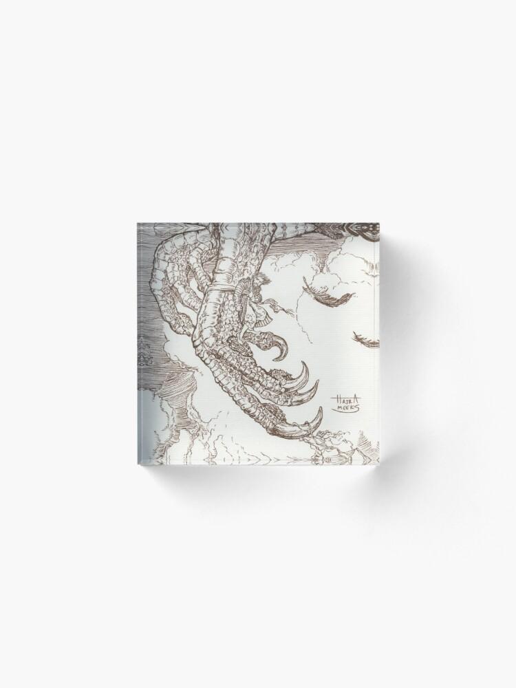 Alternate view of Sindbad & the Roc Acrylic Block