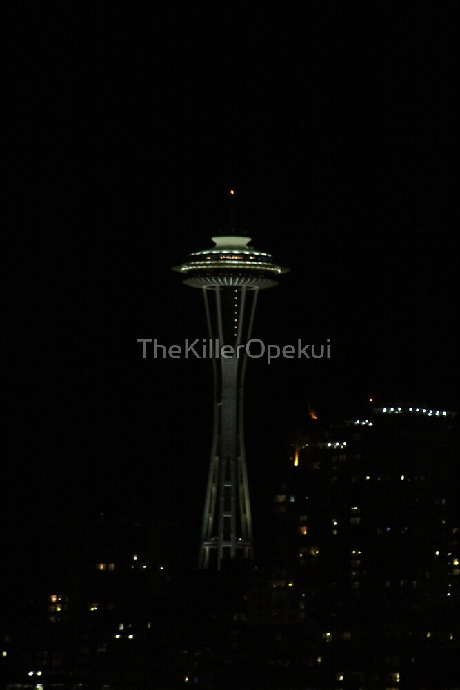 Space Needle by TheKillerOpekui