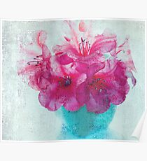 Just a Bowl of Flowers Poster