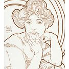 Ode to Mucha by HAJRA MEEKS