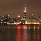 Big city lights by John Banks