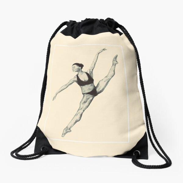 Dance Like Misty Copeland  Drawstring Bag