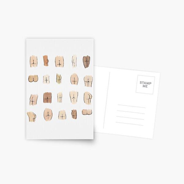 Butts Postcard