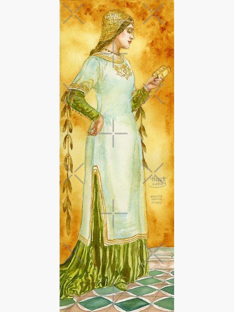 Lady Reading by HajraMeeks