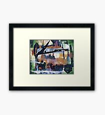 nothing has changed Framed Print