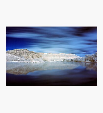 Paradise in infrared Photographic Print