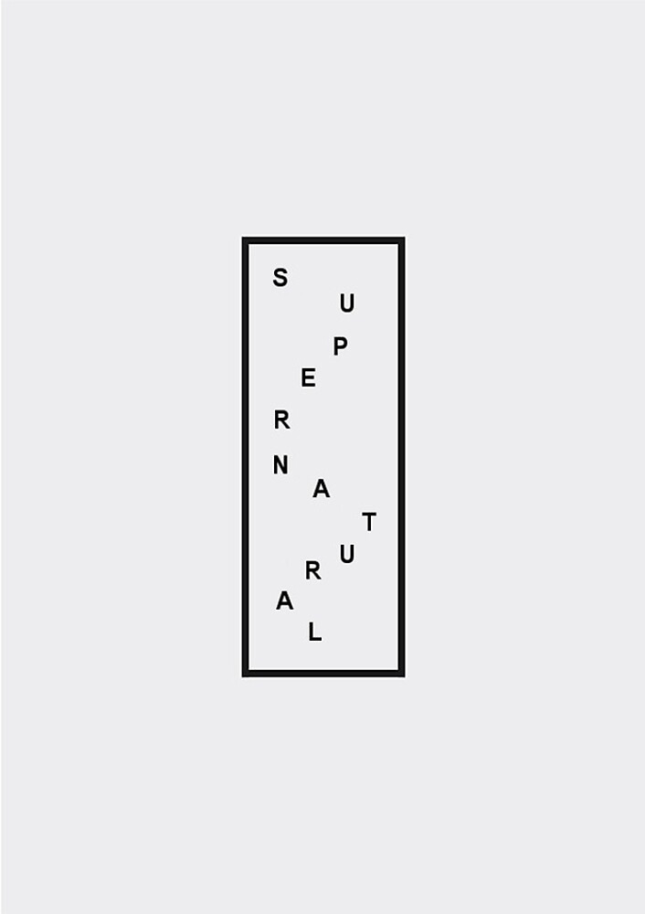 SUPERNATURAL MINIMALIST DESIGN  by milisia
