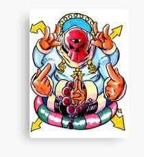 Dollazar - The God of Money Canvas Print