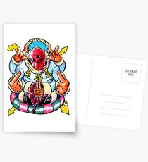 Dollazar - The God of Money Postcards
