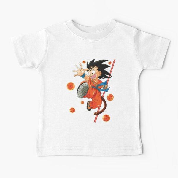 Kid goku T-shirt bébé