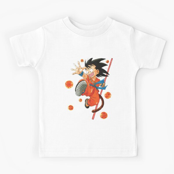 Kid goku T-shirt enfant