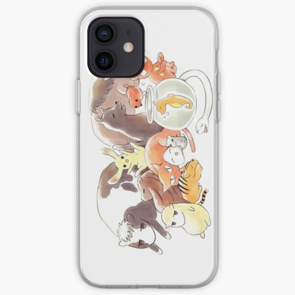 Fruits Basket | Zodiac Animals + Rice ball iPhone Soft Case