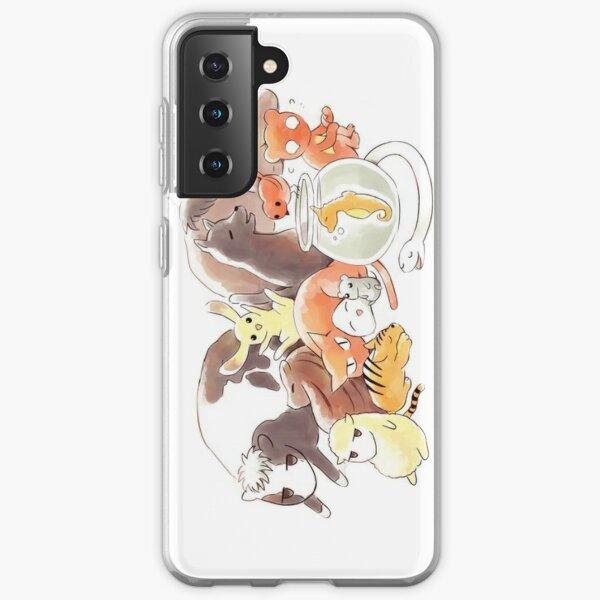 Fruits Basket   Zodiac Animals + Rice ball Samsung Galaxy Soft Case