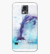 Dolphin Illustration Case/Skin for Samsung Galaxy