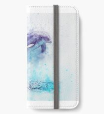Dolphin Illustration iPhone Wallet/Case/Skin