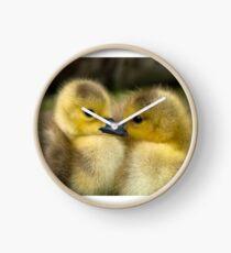 Baby Duck Love Clock