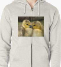 Baby Duck Love Zipped Hoodie