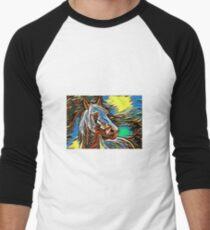 Illustration Men's Baseball ¾ T-Shirt
