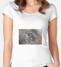 Elephant Eye Women's Fitted Scoop T-Shirt