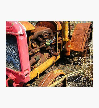 Rusty Tractor Photographic Print