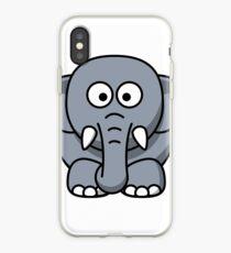 Elephant Illustration iPhone Case