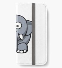 Elephant Illustration iPhone Wallet/Case/Skin